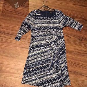 Midi tahari dress